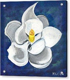 Magnolia Acrylic Print by John Keaton