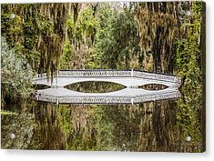 Magnolia Plantation Gardens Bridge Acrylic Print