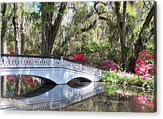 Magnolia Plantation Series 1 Acrylic Print by Melanie Snipes