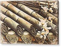 Magnolia Tiles Acrylic Print