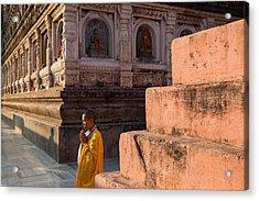 Mahabodhi  Acrylic Print