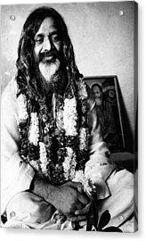 Maharishi Mahesh Yogi, New Delhi Acrylic Print