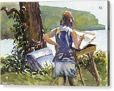Maid In The Shade Acrylic Print
