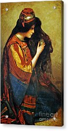 Maid Of Bethany Acrylic Print
