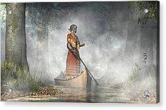 Maid Of The Mists Acrylic Print by Daniel Eskridge