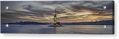 Maiden Tower Acrylic Print by Rilind Hoxha