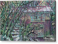 Maier House Acrylic Print by Donald Maier