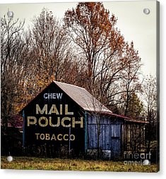 Mail Pouch Barn Acrylic Print