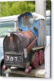Mail Truck Acrylic Print