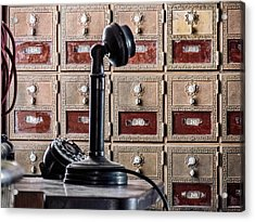 Mailbox 237 Acrylic Print