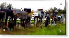 Mailboxes 2 Acrylic Print