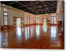 Main Room Of The Wu De Martial Arts Hall Acrylic Print by Yali Shi