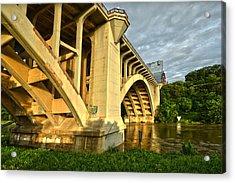 Acrylic Print featuring the photograph Main St Bridge by Ricardo J Ruiz de Porras