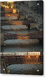 Main Stem Chicago River Acrylic Print