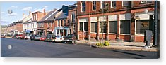 Main Street In Belfast, Maine Acrylic Print by Panoramic Images