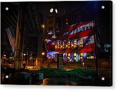 Main Street Station At Night Acrylic Print
