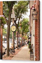 Main Street Usa Acrylic Print