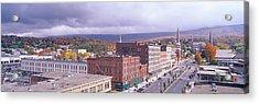 Main Street Usa, North Adams Acrylic Print by Panoramic Images