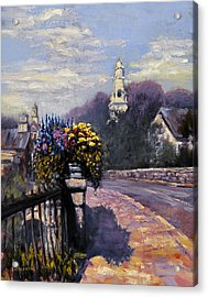 Main Streets Welcome Acrylic Print