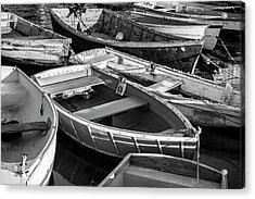 Maine Boats Acrylic Print