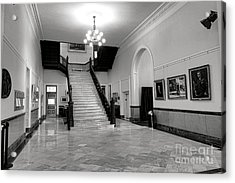 Maine Capitol West Wing Acrylic Print