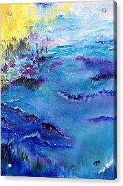 Maine Coast, First Impression Acrylic Print