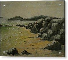 Maine Coast Usa Acrylic Print by Chris  Riley