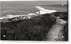 Maine Contemplation Acrylic Print by Olivier Le Queinec