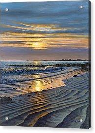 Maine Impact Acrylic Print by Bruce Dumas