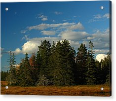 Maine Landscape Photography Acrylic Print by Juergen Roth