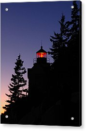 Maine Lighthouse Acrylic Print by Juergen Roth
