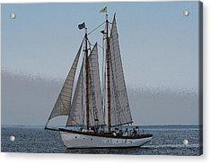 Maine Schooner Acrylic Print
