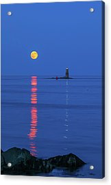 Acrylic Print featuring the photograph Maine The Way Life Should Be by Juergen Roth
