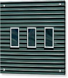 Maine Windows 2 Acrylic Print