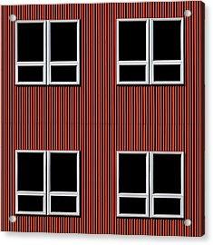 Maine Windows 3 Acrylic Print