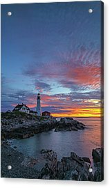 Acrylic Print featuring the photograph Maine Worth A Visit Worth A Lifetim by Juergen Roth
