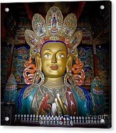 Maitreya Buddha Acrylic Print