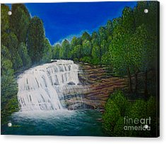 Majestic Bald River Falls Of Appalachia II Acrylic Print
