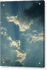 Majestic Blue Acrylic Print by Stephen Davis