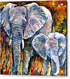 Majestic Acrylic Print by Bonny Roberts