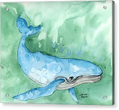 Acrylic Print featuring the painting Majestic Creature by Darice Machel McGuire