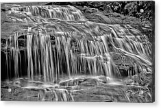 Acrylic Print featuring the photograph Majestic Falls In Motion by David A Lane