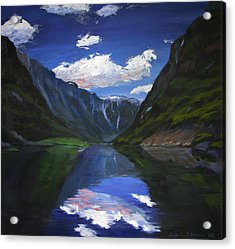 Majestic Fjords Acrylic Print
