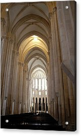 Acrylic Print featuring the photograph Majestic Gothic Cathedral In Portugal by Kirsten Giving
