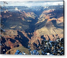 Majestic Grand Canyon Acrylic Print by Laurel Powell