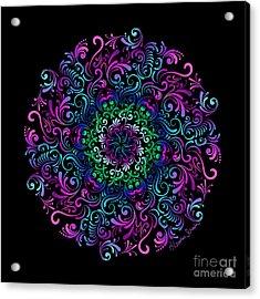 Majestic Kaleidoscope Acrylic Print