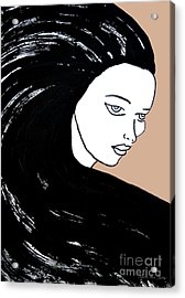 Majestic Lady J0715b Acrylic Print
