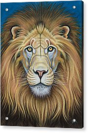 The Lion's Mane Attraction Acrylic Print