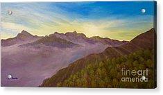 Majestic Morning Sunrise Acrylic Print