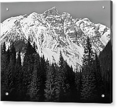Majestic Mountains, British Columbia, Canada Acrylic Print by Brian Caissie